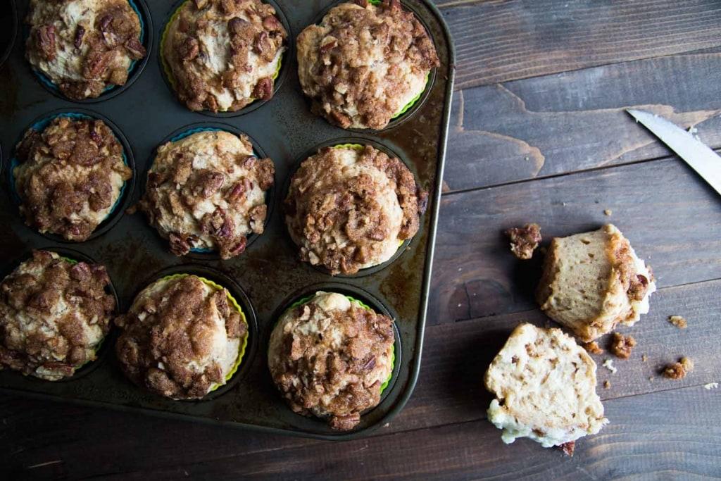 Muffins au goût de brioche Cinq Fourchettes Cinq Fourchettes