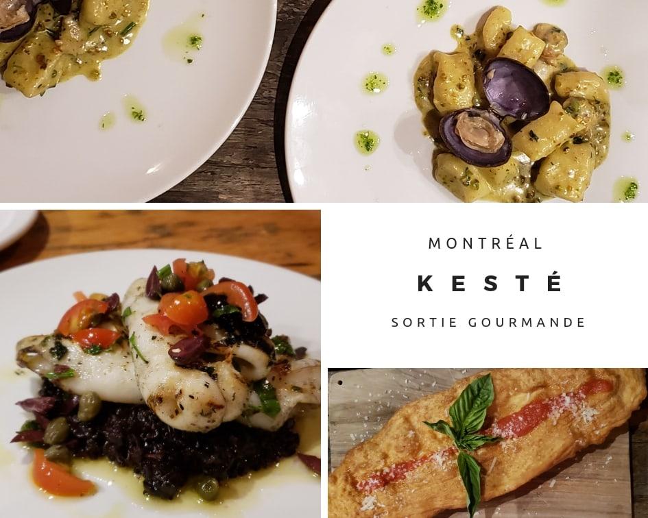 Kesté, un petit bijou de restaurant italien à découvrir à Montréal / Cinq Fourchettes
