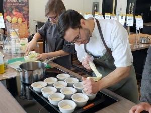 La Tournée du Chocolat Chaud au profit de la Tablée des Chefs Cinq Fourchettes
