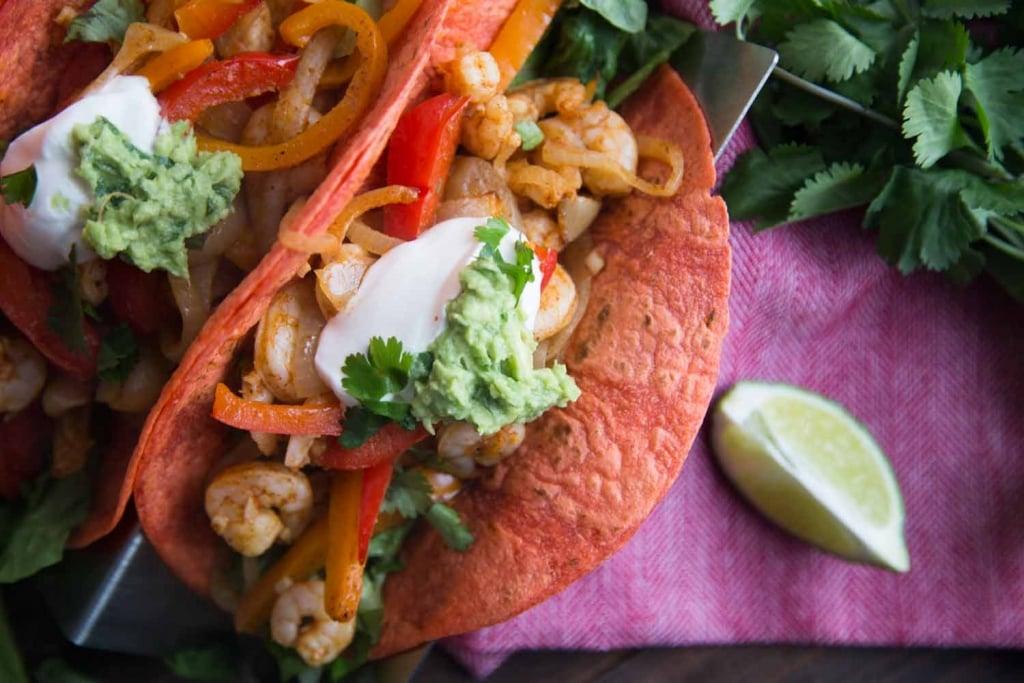 Fiesta mexicaine : Tacos aux crevettes Cinq Fourchettes