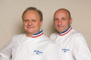 Joël Robuchon et Éric Bouchenoire
