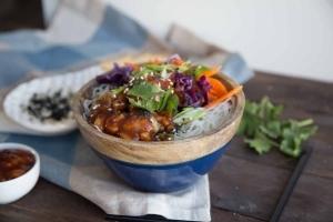 Boulettes de porc sauce à l'ananas - Recette à congeler Cinq Fourchettes