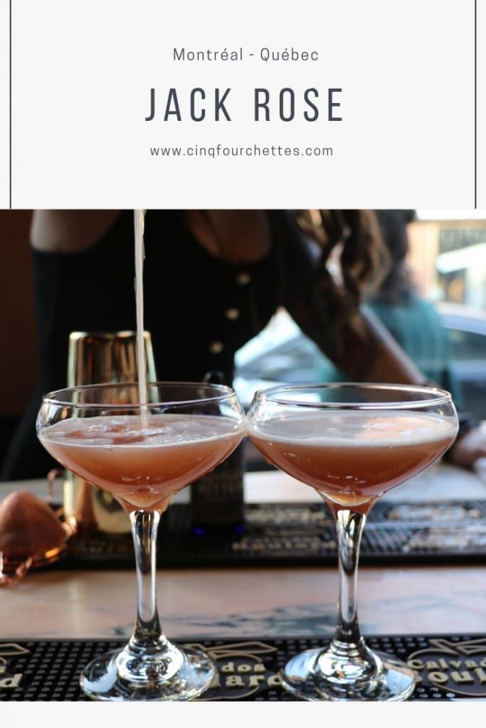 Nouveau resto-bar sur la Main: le JackRose Cinq Fourchettes