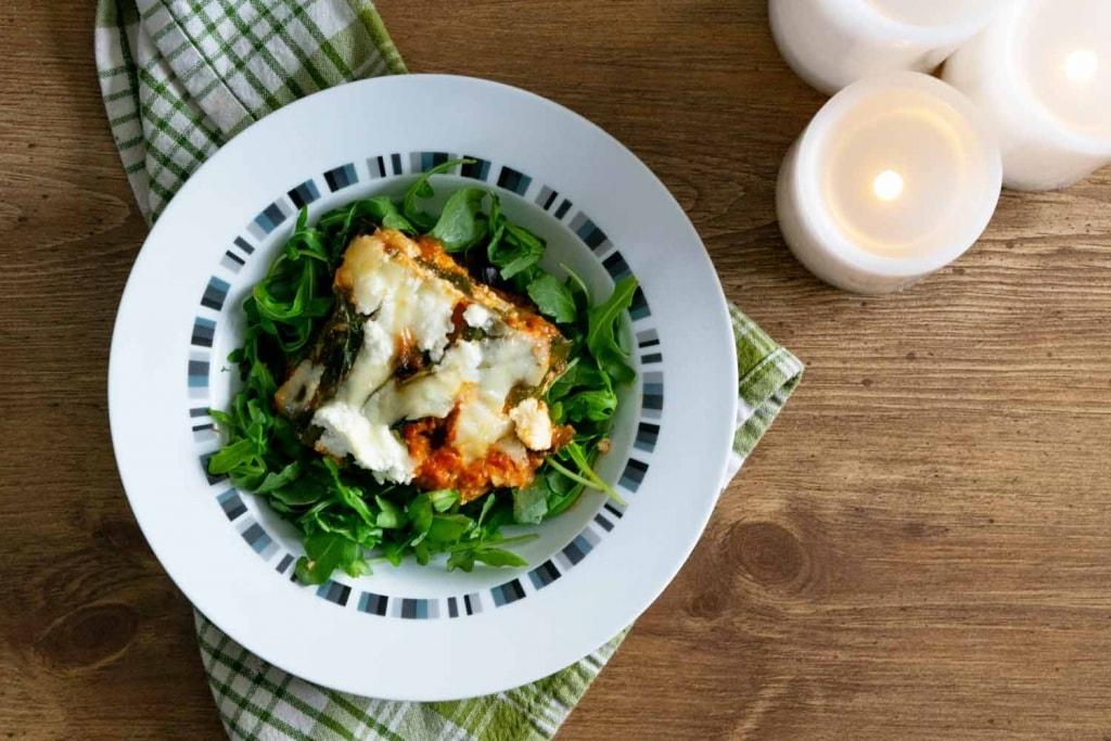 Lasagne sans pâtes économique Cinq Fourchettes