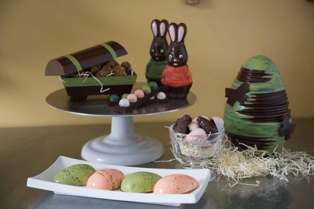 Les Mains Sucrées : De beaux chocos artisanaux pour Pâques !