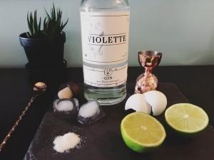Cinq Fourchettes Gin Violette photo