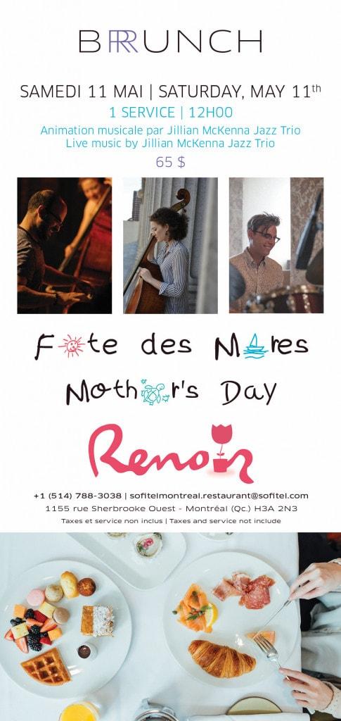 Fête des mères Renoir photo Cinq Fourchettes