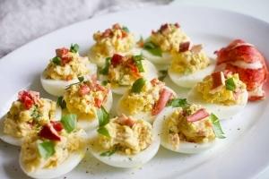 Œufs mimosas au homard : Parfait pour la fête des Pères ! Cinq Fourchettes