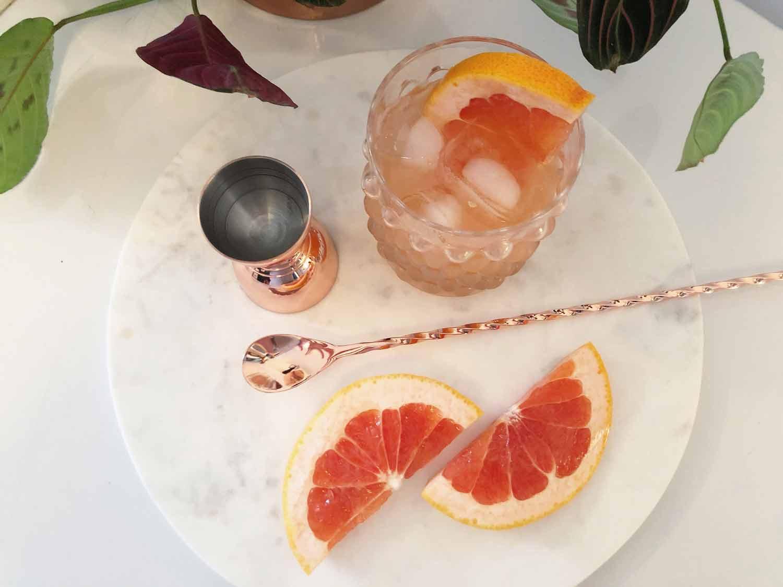 Le Paloma, un cocktail fruité, léger et rafraîchissant! Cinq Fourchettes