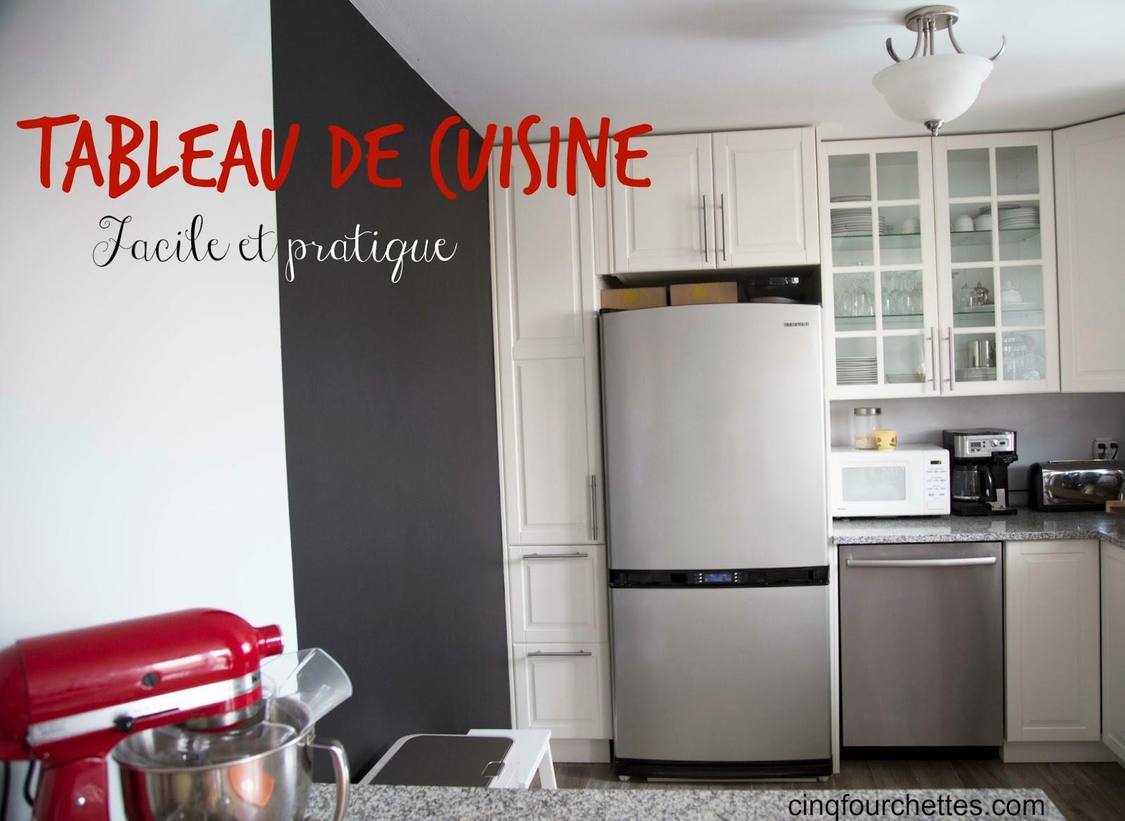 Comment faire un tableau noir pour la cuisine! - Cinq Fourchettes